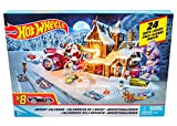 Hot Wheels FKF95 Adventskalender 2018 mit 8 Spielzeugautos...
