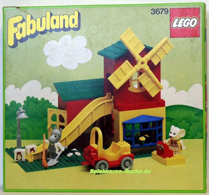LEGO Bau- & Konstruktionsspielzeug LEGO Bauanleitung Fabuland 344 Ziege und Mike Affes Großgarage von 1979