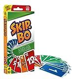 Mattel Games 52370 - Skip-Bo Kartenspiel, geeignet für 2 -...