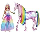 Barbie GWM78 - Dreamtopia Magisches Zauberlicht Einhorn mit...