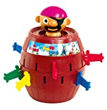TOMY Kinderspiel 'Pop Up Pirate' - hochwertiges Aktionsspiel...