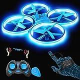 SNAPTAIN SP300 Drohne mit Blaue LED, RC Quadrocopter mit 3...