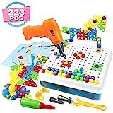 Symiu 3D Puzzle Kinder Mosaik Steckspiel Bausteine mit...
