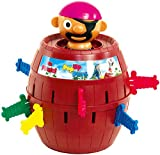 TOMY Kinderspiel 'Pop Up Pirate', Hochwertiges Aktionsspiel...