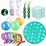 18er Anti Stress Spielzeug Set Fidget Toy Kinder Erwachsene,...