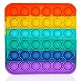 Bdwing Push Pop Bubble Sensory Fidget Toy, Silikon...