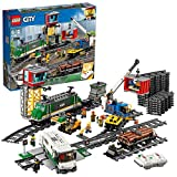 LEGO 60198 City Güterzug, Set mit batteriebetriebenem Motor...